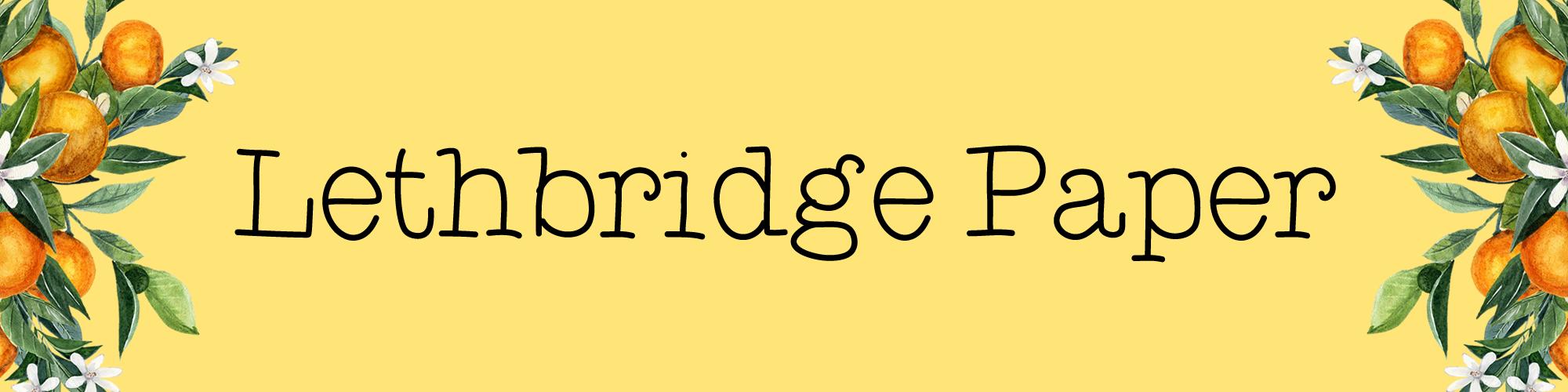 Lethbridge Paper